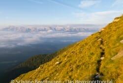 11 Gipfel Tour 2013 - Pragser Dolomiten im Morgenlicht