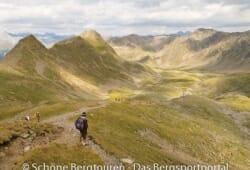 11 Gipfel Tour 2013 - Abstieg ins Agsttal