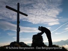 11 Gipfel Tour 2013 - Gipfelkreuz des Eisatz