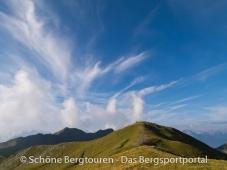 11 Gipfel Tour 2013 - Rueckblick vom Amperspitz