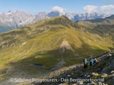 11 Gipfel Tour 2013 - Abstieg vom Amperspitz zum Ampertoerl