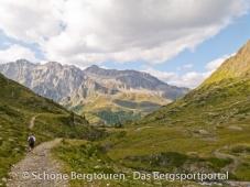 11 Gipfel Tour 2013 - Letzten Meter zum Staller Sattel