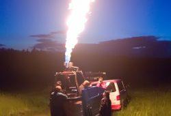 Ordentliche Flamme