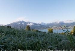 Blick ueber den Tegernsee