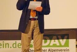 Michael Pause bei der Preisverleihung