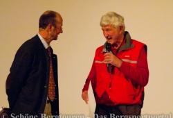 Michael Pause und Captain Bob Shepton