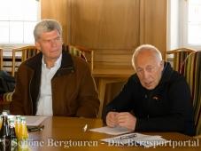 Peter Janssen und Heiner Geissler