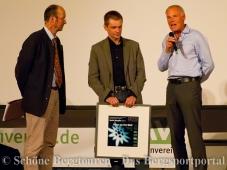 Uebergabe des Preises des Deutschen Alpenvereins