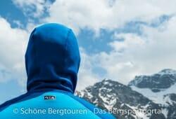 Adidas Terrex Stockhorn Fleece Hoody - Rueckansicht der Kapuze