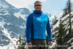 Adidas Terrex Stockhorn Fleece Hoody - Franzoesische Alpen
