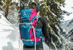 Deuter Rise 26 SL Skitourenrucksack - Kurze Rast