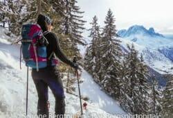 Deuter Rise 26 SL Skitourenrucksack - Aussicht