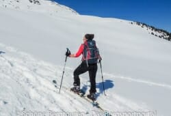 Deuter Rise 26 SL Skitourenrucksack - Aufwaerts