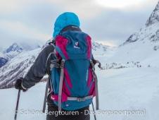 Deuter Rise 26 SL Skitourenrucksack - Etwas kalt