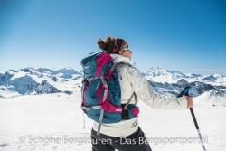 Deuter Rise 26 SL Skitourenrucksack - Gletscher