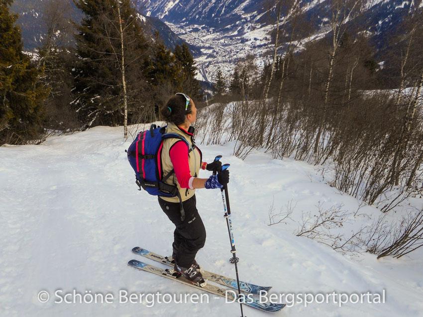 fda98f95c2 Ortovox Haute Route 32 Woman Skitourenrucksack - Tal von Chamonix
