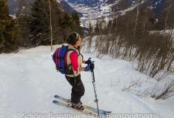 Ortovox Haute Route 32 Woman Skitourenrucksack - Tal von Chamonix