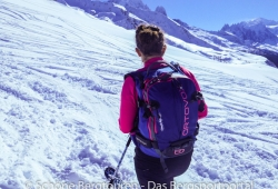Ortovox Haute Route 32 Woman Skitourenrucksack - Kurze Pause