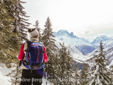 Ortovox Haute Route 32 Woman Skitourenrucksack - Ausblick