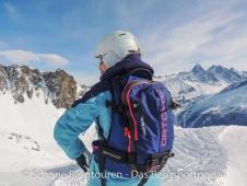 Ortovox Haute Route 32 Woman Skitourenrucksack - Abfahrt