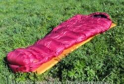 Valandre Bloody Mary Daunenschlafsack - In voller Pracht