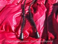 Valandre Bloody Mary Daunenschlafsack - Ausgefranste Kordelschnur