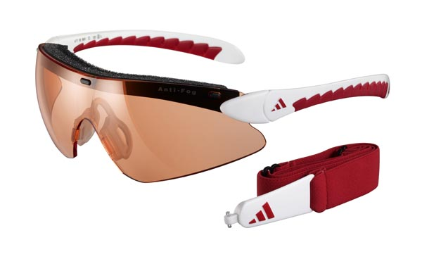 Adidas Eyewear Supernova Pro - White Red