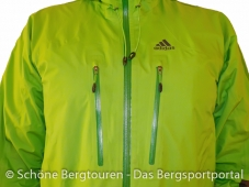 Adidas Terrex Feather Jacket - Brusttaschen