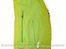 Adidas Terrex Feather Jacket - Seitentasche und Pit Zip
