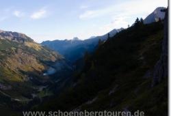 Schrofenpass - Rappenalpental