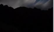 Naechtliche Licht- und Wolkenspiele