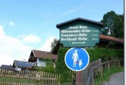 Die Tour beginnt in Mittenwald