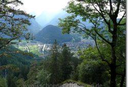 Rueckblick auf Mittenwald