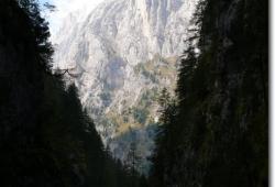 Ausblick aus der Sottogudaschlucht