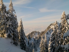 Alpengasthof Hoermoos - Blick zum Saentis