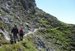 Alpengasthof Hohe Burg - Wandern