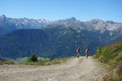 Alpengasthof Hohe Burg - Mountainbiken