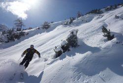 Alpengasthof Hohe Burg - Skitour