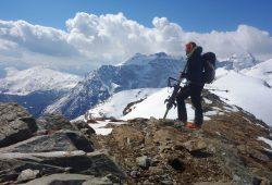 Alpengasthof Hohe Burg - Pause bei Skitour