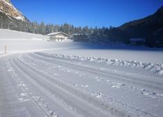 Alpengasthof Hohe Burg - Langlaufloipe