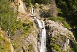 Antholzertal - Blick zum Klammbach Wasserfall
