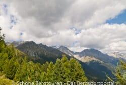 Antholzertal - Blick zur Rieserfernergruppe