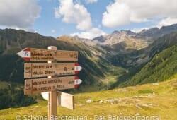 Antholzertal - Kammlinie zwischen Antholzertal und Wielental