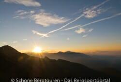 Antholzertal - Herrlicher Sonnenaufgang
