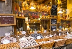 Auvergne - Leckere Wuerste gibt es in Le Mont-Dore
