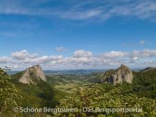 Auvergne - Blick vom Col de Guery