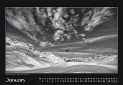 Blackmountainswhite Kalender 2014 - Januar