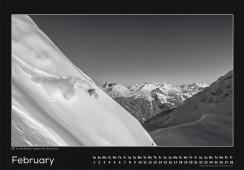 Blackmountainswhite Kalender 2014 - Februar