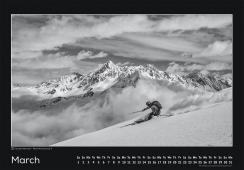 Blackmountainswhite Kalender 2014 - Maerz