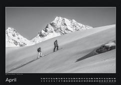 Blackmountainswhite Kalender 2014 - April